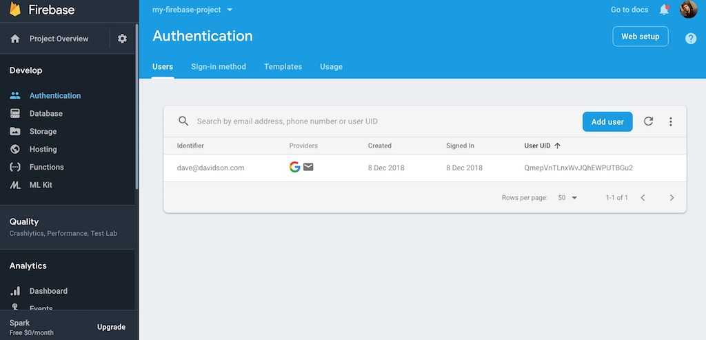 firebase authentication social logins